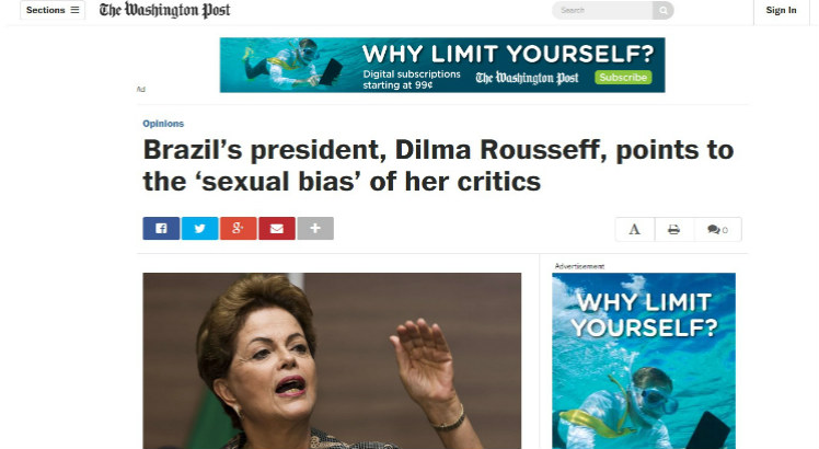 Dilma - Washington Post