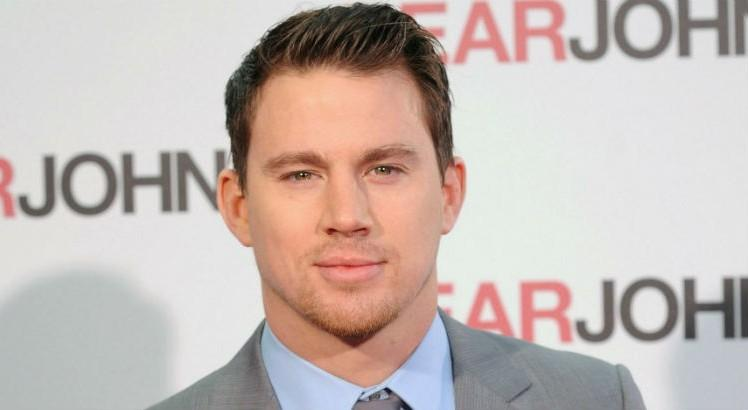 Channing-Tatum-In-Grey-Coat-At-EARJOHN-Event