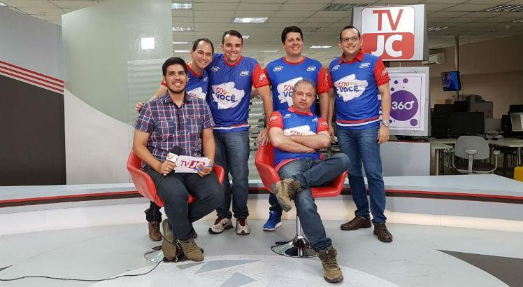 Professores do GGE participaram da TV JC