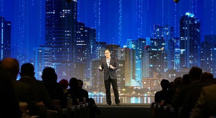 Michael Dell, Fundador da Dell Technologies, na Dell Technology Summit, Austin, 2019