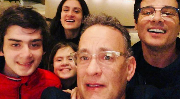 Celso Portiolli tieta Tom Hanks ok