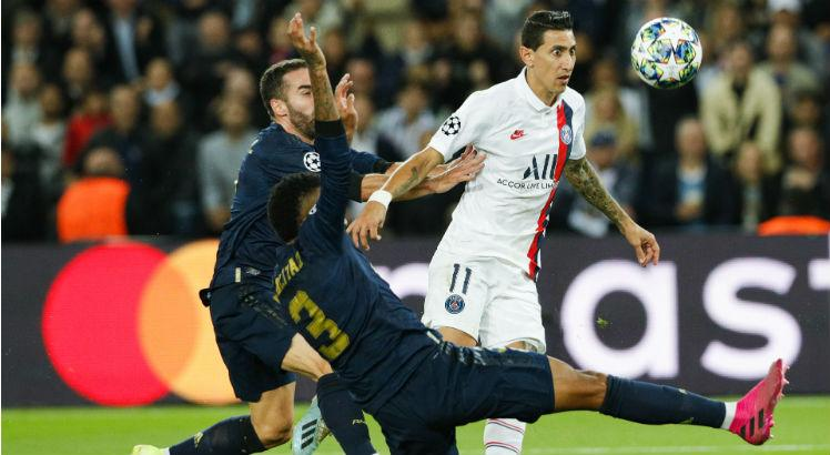 psg, real madrid, di maria